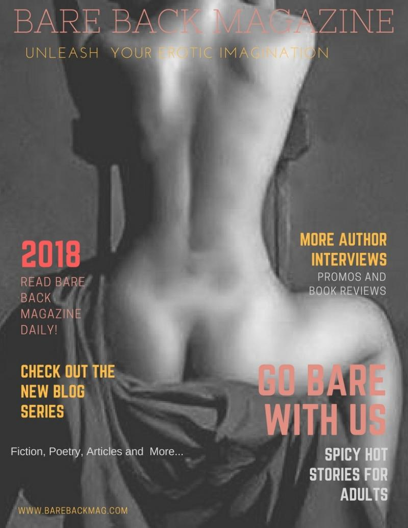 Bare Back Magazine 2018 Cover